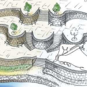 проектирование, эскизный, здания, участок, этап, ландшафт, целью